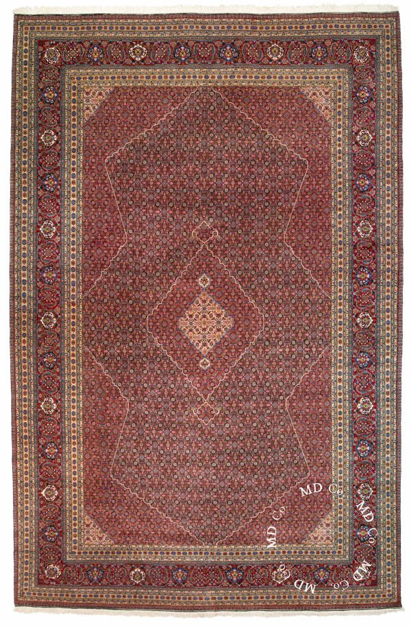 Persian Tabriz 11x17 Large Rug