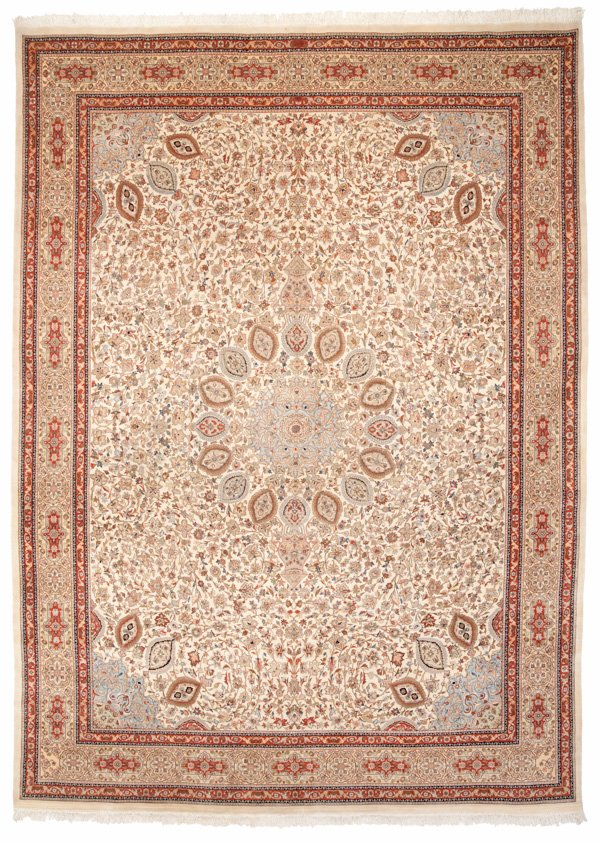 Persian Tabriz 12x16 Large Rug