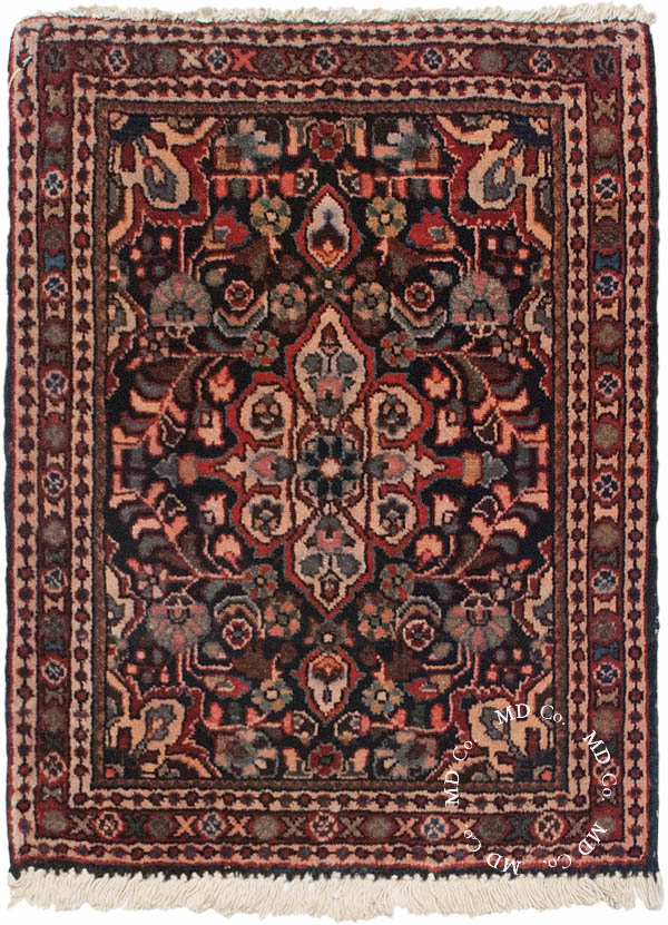 Persian Malayer 2x2 Square Rug